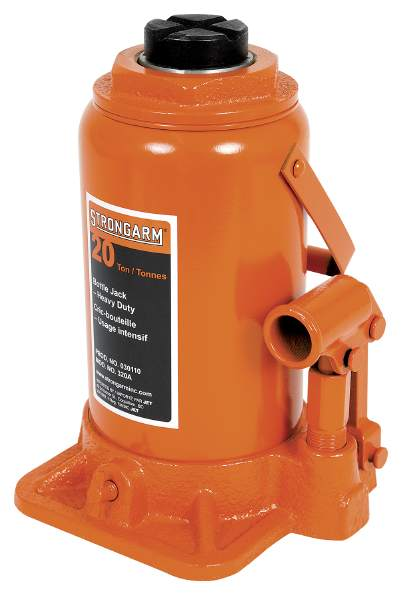 StrongArm 320A - 20 Ton Bottle Jack - Heavy Duty