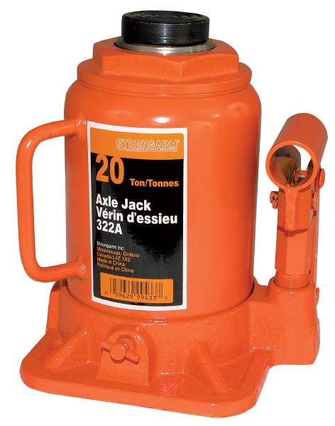StrongArm 322A - 20 Ton Bottle Jack - Heavy Duty