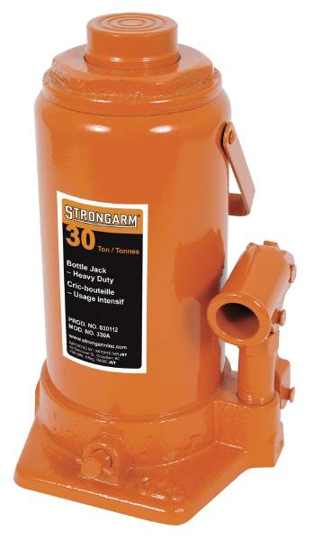 StrongArm 330A - 30 Ton Bottle Jack - Heavy Duty