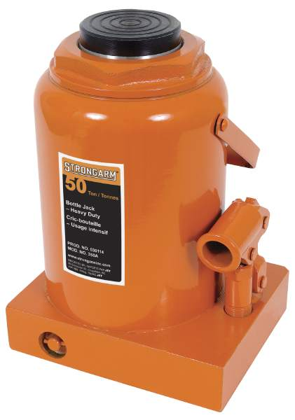 StrongArm 350A - 50 Ton Bottle Jack - Heavy Duty