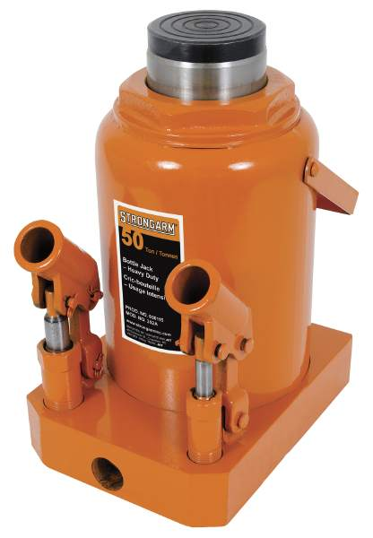 StrongArm 352A - 50 Ton Bottle Jack - Heavy Duty