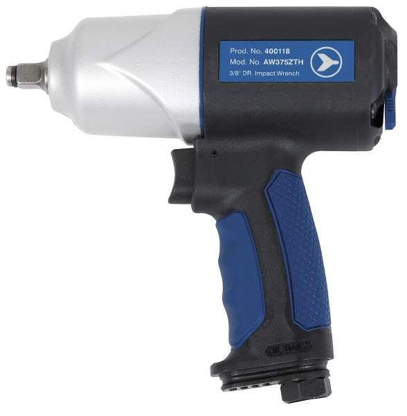 "JET AW375ZTH - 3/8"" Drive Zephyr Series Impact Wrench – Standard"