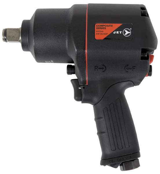 "JET AW19CSDP - 3/4"" Drive Composite Series Impact Wrench – Super"