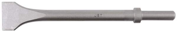 "JET VWF300R - .680 Round Shank 12"" Long Wide Face Chisel - Heavy"