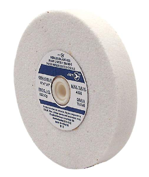 "JET WA675F - 6"" X 3/4"" X 1 WA60 Grinding Wheel (For Hard Steel)"