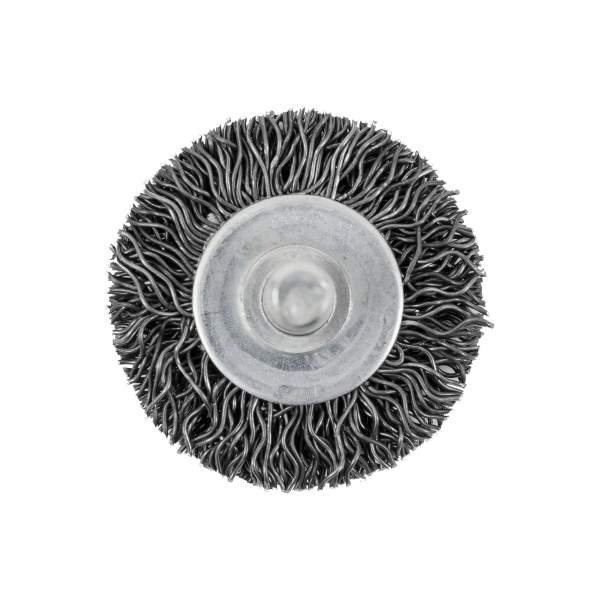 "JET 126 - 1 1/2"" X .020 Type F Radial Crimped Wire Mounted Brush"