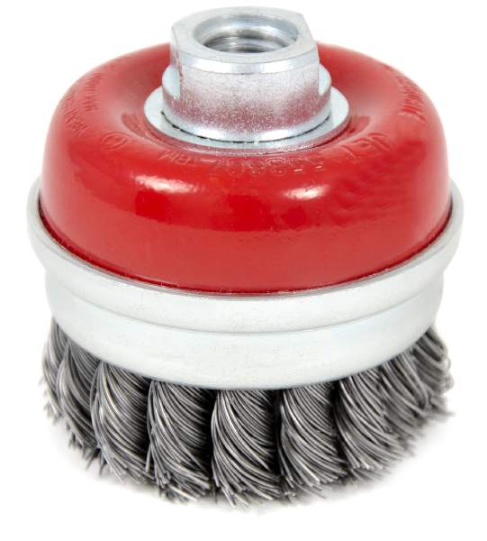 "JET CKB3001-T - 3"" X 5/8-11 NC Knot Banded Cup Brush"