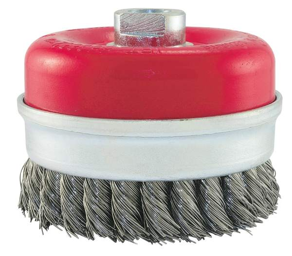 "JET CKB4201-T - 4"" X 5/8-11 NC Knot Banded Cup Brush"