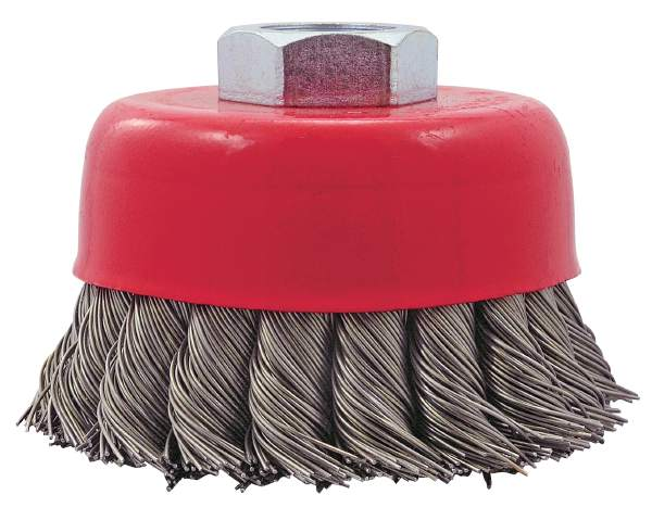 "JET CK3201-T - 3"" X 5/8-11 NC Knot Twisted Cup Brush"