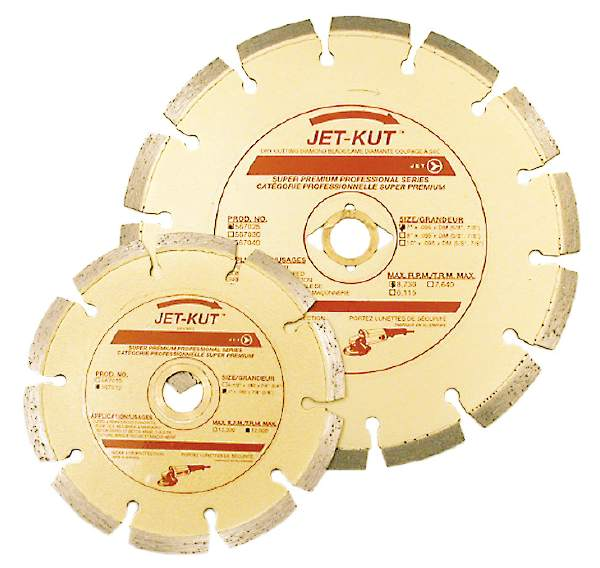 "JET SPDST–5 - 5"" X .080"" X 7/8 Super Segmented Diamond Blade"
