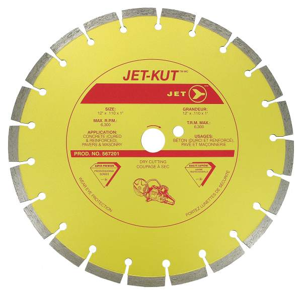 "JET SPHSD–14C–20M - 14"" X .125"" X 20mm Super Diamond Blade"