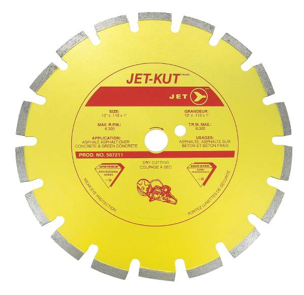 "JET SPHSD–12A–20M - 12"" X .110"" X 20mm Super Diamond Blade"