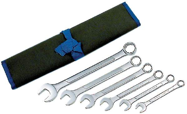 JET CWS-6S - 6 PC SAE Raised Panel Combo Wrench Set