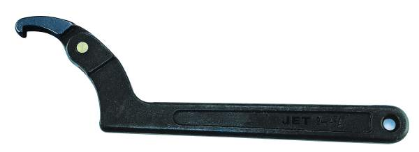 "JET JHSW-102 - 2"" Adjustable Spanner Wrench - Hook Style"