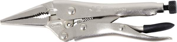 "JET J4LN - 4"" Long Nose Locking Pliers with Cutter"
