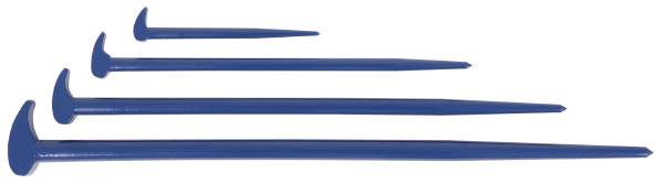 JET JRPB-4S - 4 PC Rolling Head Pry Bar Set