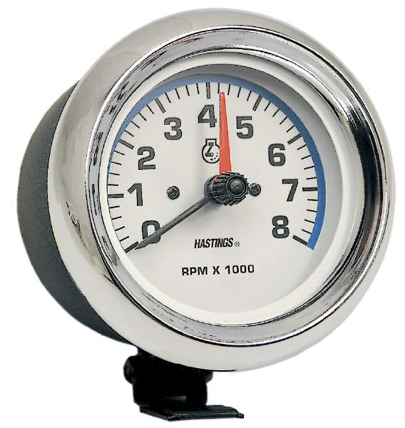 "JET Easy-Read 3 1/2"" Dial Tachometer"