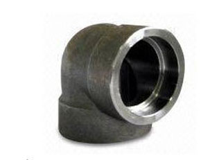 "1/4"" Class 3000 Forged Steel Socket Weld 90 Deg. Elbow"