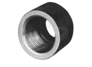 "1/4"" Class 6000 Forged Steel Threaded Half Coupling"