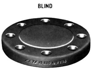 "1/2"" Class 300 (PN50) Raised Face BLIND Flange"