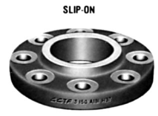 "3-1/2"" Class 150 (PN20) Raised Face SLIP-ON Flange"