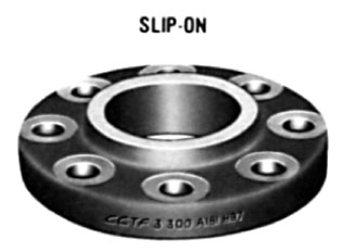 "1/2"" Class 300 (PN50) Raised Face SLIP-ON Flange"