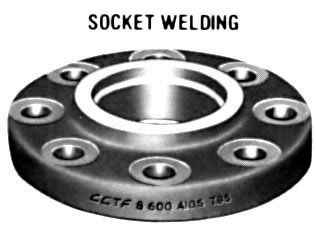 "1"" Class 600 (PN100) Raised Face SOCKET WELD Flange Extra Heavy"
