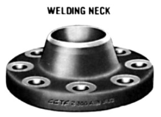 "1/2"" Class 300 (PN50) Raised Face WELD NECK Flange Extra Heavy W"
