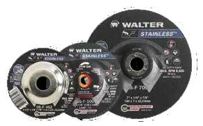 J. Walter 4-1/2 X 1/8 Type 27S - A30SS COMBO Cut/Grind - Spin-On