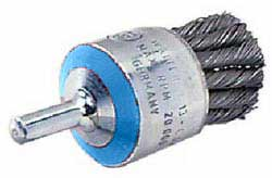 "J. Walter 1-1/8"" X 1/4"" Shaft Mounted Wire End Brush-ST ST"